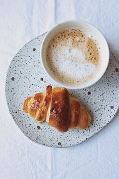 Why don't you also try the special Italian croissants with your ORCA Cappuccino?