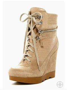 Sneaker Heels, Wedge Sneakers, Wedge Shoes, High Top Sneakers, Shoes Sneakers, Shoes Heels, High Heels, Sneakers Women, Bootie Boots