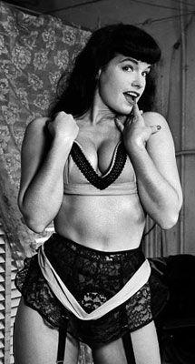 Bettie Page, la leyenda olvidada de un mito sexual - MujerLife