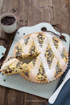 Crostata ricotta e cioccolato Ricetta facile senza burro