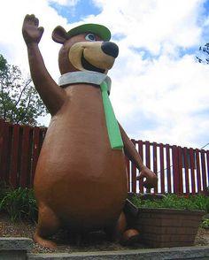 Yogi Bear Statue .....Jellystone Park Eureka, Missouri    Eureka, Missouri