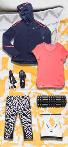 The Stronger Than Yesterday Fit Kit pairs essential running gear with a stamina-building NRC workout and energetic playlist. The result? A must-have collection for making progress.