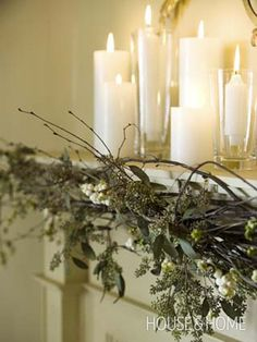 Natural Elements | Photo Gallery: Nicola Marc's Favourite Holiday Decor | House & Home | Photo by Monic Richard