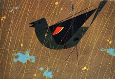 Charley Harper.  I will never get tired of his genius.