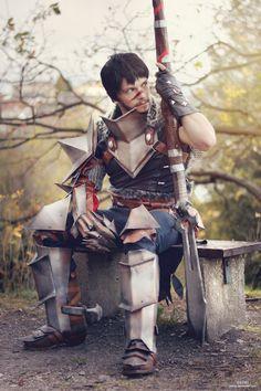 Dragon Age - Garrett Hawke by itsL0KI.deviantart.com on @deviantART