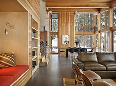 N. Lake Wenatchee home project from DeForest Architects | Porch