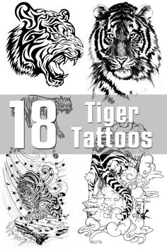 18 Tiger Tattoo Designs | The Body is a Canvas