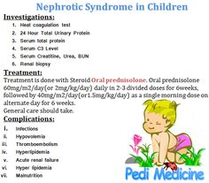 nephritic vs nephrotic syndrome - Google Search