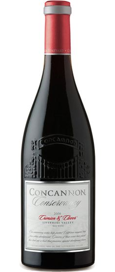 Concannon Vineyard, Crimson & Clover red wine.  VERY good wine.  It's a must try!
