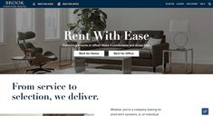The 6 Best Furniture Rental Companies: Brook Affordable Furniture, Cool Furniture, Furniture Design, Discount Furniture, Online Furniture, Home Theater Furniture, Apartment Guide, Furniture Packages, Small Space Living