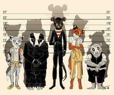 Fox & Unusual SuspectsArt Print by castlepop on Etsy Zootopia, Zoro, Roald Dahl Books, Fantastic Fox, Wes Anderson Movies, Mr Fox, Fanart, Film Serie, Great Movies