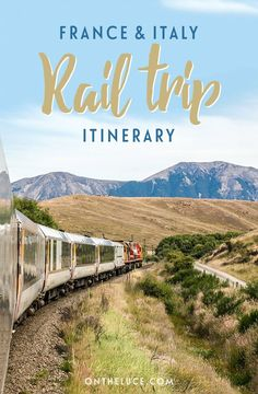 A two-week rail route through Southern France and Northern Italy, featuring historic cities, wine regions, pretty coastal towns and flower-decked canals.