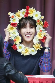 If people don't think J-Hope is beautiful, I don't think that person has respect for true beauty