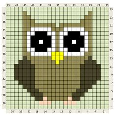 Thrilling Designing Your Own Cross Stitch Embroidery Patterns Ideas. Exhilarating Designing Your Own Cross Stitch Embroidery Patterns Ideas. Cross Stitch Owl, Cross Stitch Animals, Cross Stitch Charts, Cross Stitching, Cross Stitch Embroidery, Embroidery Patterns, Cross Stitch Patterns, Crochet Diagram, Crochet Chart