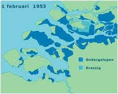 hier zie je het overstroomde gebied er zijn in totaal zover bekend gegeven 1800 slachttoffers gevallen. Noord-Brabant: 247 Noord-Holland: 6 Zeeland: 865 Zuid-Holland: 677