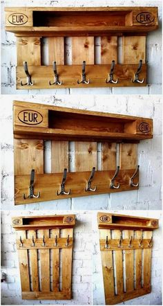 Diy Furniture - wood Material Palette DIY Pallet - create something amazing with used wood palle. Wooden Pallet Projects, Pallet Crafts, Diy Pallet Furniture, Furniture Projects, Pallet Ideas, Diy Projects, Office Furniture, Furniture Websites, Furniture Redo
