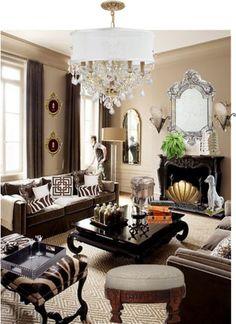 Designer Clothes, Shoes & Bags for Women Zebra Decor, Decor Styles, Style Me, Table Settings, Interiors, Polyvore, Ideas, Home, Design