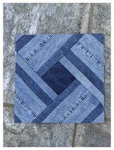Jean Crafts, Denim Crafts, Denim Quilt Patterns, Denim Quilts, Bag Patterns, Artisanats Denim, Denim Purse, Blue Jean Quilts, Denim Ideas
