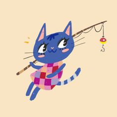 Animal Crossing Rosie Sticker by pupushu - White Background - Rosie Animal Crossing, Warrior Cats, Bucky Barnes, Art Inspo, Video Games, Cartoons, Watercolor, Stickers, Art Prints