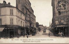 Au Bon Coin, à l'angle de la rue Pelleport et la rue de Ménilmontant, vers 1900