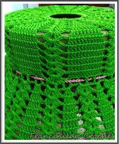 Tá cansada da sua cozinha monótona? Quer dar 'vida', cores aos objetos e ao ambiente? As peças em crochê logo abaixo (fotos) podem lhe p...