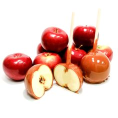 Locally sourced apples hand spun in our delicious Homemade Caramel! http://www.bettyjanecandies.com/product/caramel-apple.html