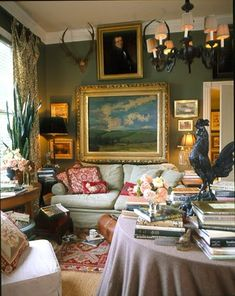 With the current popularity of Downton Abbey, there seems to be a renewed interest in English interiors.   English style decor is collect...