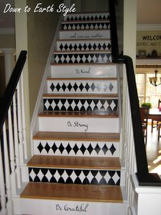 wish my stairs were wood to do something like this....file for someday