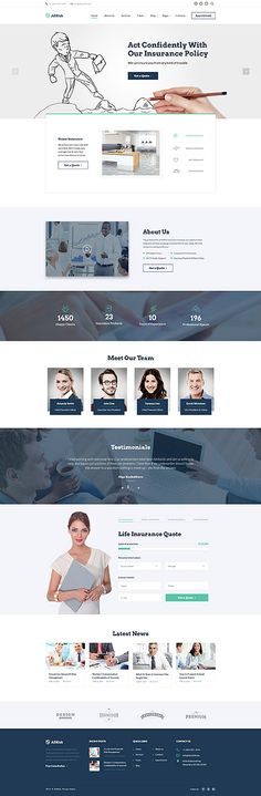 Business website inspirations at your coffee break? Browse for more Bootstrap #templates! // Regular price: $75 // Sources available: .HTML, .PSD #Business #Bootstrap