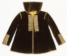 KEYWORDS / TITLE  coachman's coat / kuskkjortel  BRIEF DESCRIPTION  Driver Kappa, also called kuskekiortell.  DATING  in 1600 the first half  OTHER KEYWORDS  kappa  COLLECTION OF THE  Royal Armoury  INVENTORY NUMBER  21492 (3945: a)