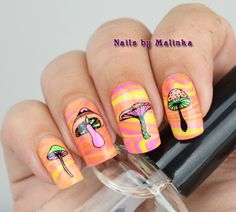 Lovely nail design, like it? It is from bornprettystore.com customer review.