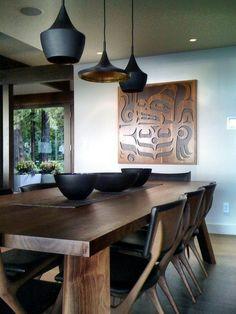 lighting - pendants - Tom Dixon contemporary living room by Gaile Guevara