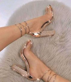 Women's Shoes - big size Women Heeled Sandals Bandage Rhinestone Ankle Strap Pumps Super High Heels 11 CM Square Heels Lady Shoes - Popular Web Sites Super High Heels, High Shoes, Women's Shoes, Platform Shoes, Club Shoes, Shoes Sneakers, Kickers Shoes, Gold Dress Shoes, Wedge Sneakers