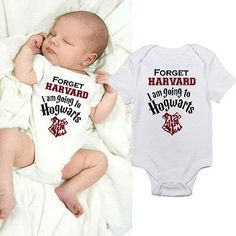 Requested by our Harry Potter fans out there! These adorable and funny Im going to Hogwarts onesies would make an awesome gift for any Harry Potter fan out there!  Be sure to visit us at destination-baby.com to see our entire collection of fun and affordable shoes, clothes and accessories for baby,child and mom. Always FREE shipping!