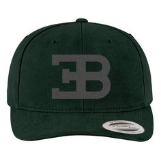 Bugatti Logo Brushed Embroidered Cotton Twill Hat