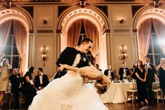 First Dance Perfection at the Colony Club in Detroit.  By Detroit wedding photographer Heather Jowett.  #colonyclubdetroit #weddingphotography #thedip #detroitweddingphotographer