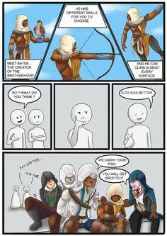 Im sorry but Ezio was better