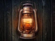 Lamp Illustration Design