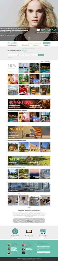 Introuvable.com - idéveloppement : création de site internet bordeaux #webdesign #frontend #backend