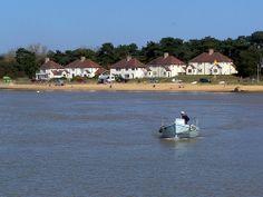 Bawdsey Views From Felixstowe Ferry