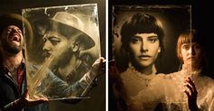 Photographer Uses 160-Year-Old Camera To Take Eerily Beautiful Portraits   Bored…