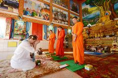 Phuket Buddhist Blessing Phuket Wedding, Thailand Wedding, Destination Wedding, Event Organiser, Travel Themes, Blessing, Wedding Ceremony, Marriage, Valentines Day Weddings