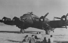Italian heavy bomber P. 108, 1942-1943