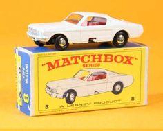 MATCHBOX LESNEY 8 Ford mustang / jouet ancien