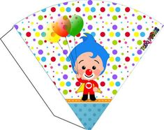 Decoración de Payaso Plim Plim Circus Birthday, Ideas Para Fiestas, Party In A Box, Candy Boxes, Playing Cards, Wings, Printables, Baby Shower, Paper