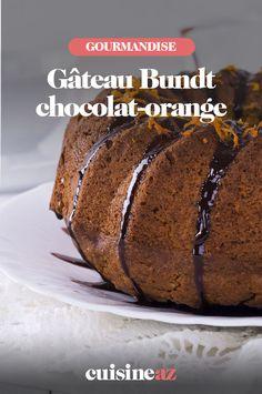 Le gâteau bundt est une pâtisserie parfaite pour un goûter en famille ou entre amis. Avec les saveurs du chocolat et de l'orange, ce bundt plaira aux gourmands. #recette #cuisine #patisserie #chocolat #orange #gateau