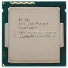 процессор Intel Core i7-4770, 3.40ГГц, 8МБ, LGA1150, BOX