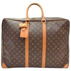 Louis Vuitton Monogram Sirius 55 Travel Bag ❤ liked on Polyvore