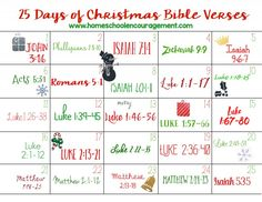 Read through thebirth of Jesus with this funprintable! Use it as an Advent calendar, or simply a way to celebrate the true meaning of Christmas. --> D