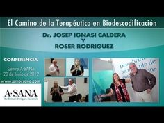 Dr. Josep I. Caldera y Roser Rodriguez explica más a cerca de función biológica de las enfermedades y el transgeneracional.